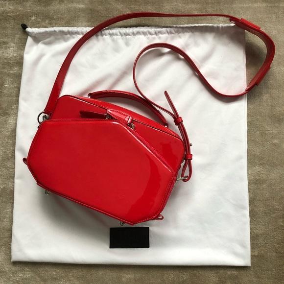 Alexander Wang Handbags - Alexander Wang Rafael Red Patent Leather Bag 5f454f46ec